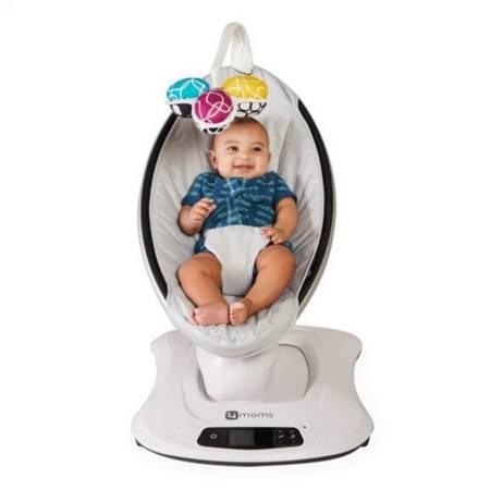 4moms Fotelik leżaczek bujaczek dla niemowląt mamaRoo Classic Grey