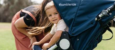 Bumbleride Wózek bliźniaczy Indie Twin Maritime Blue