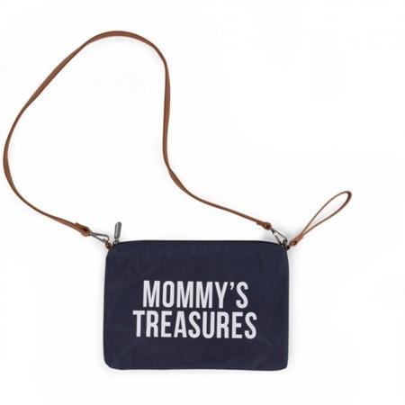 Childhome Torebka - saszetka Mommy's Treasures granatowa