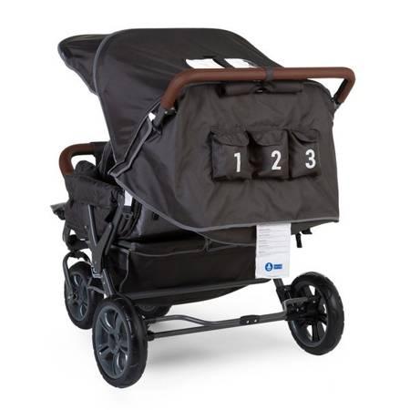 Childhome Triplet wózek trzyosobowy NEW dla rodzin i żłobków