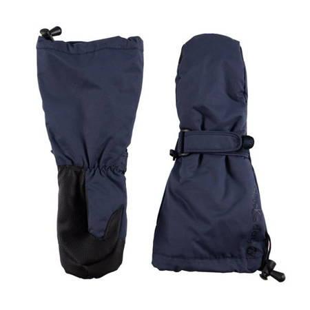 Ducksday Rękawiczki narciarskie ocieplane z długim mankietem rozmiar S blue
