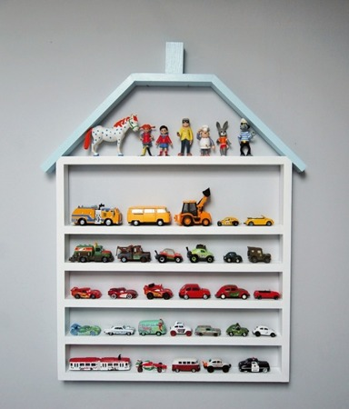Dziecięca półka Garaż domek mega