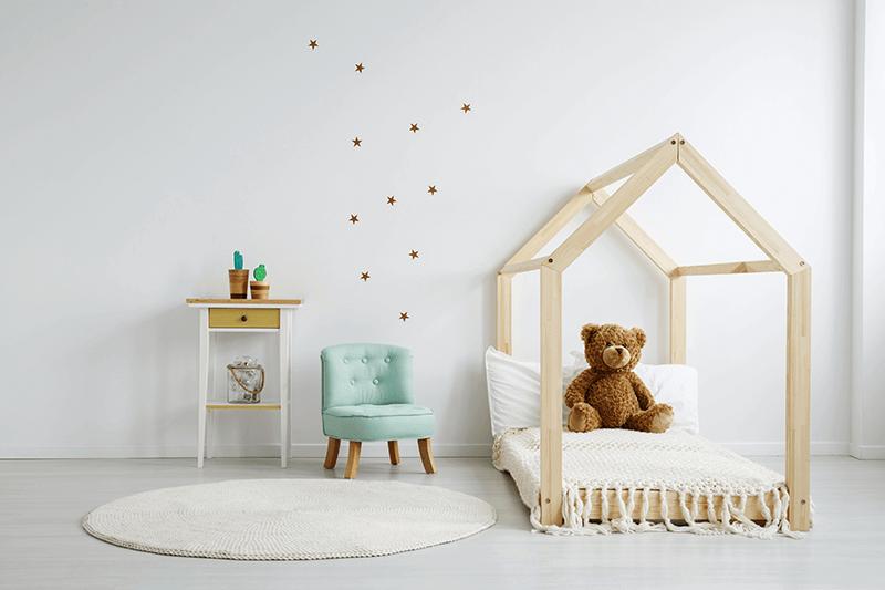 Fotelik Dziecięcy Len Miętowy