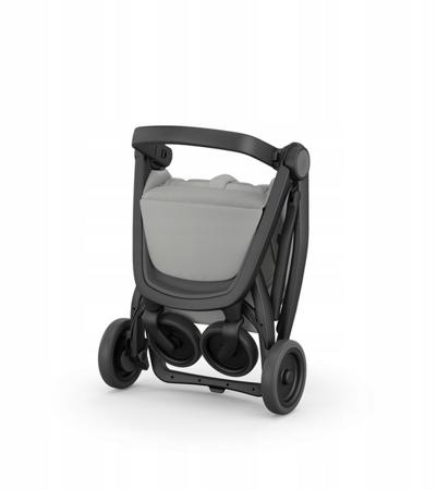 Greentom Classic Wózek spacerowy EKO czarno-czarny