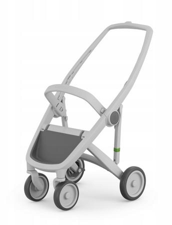 Greentom Classic Wózek spacerowy EKO szaro-szary
