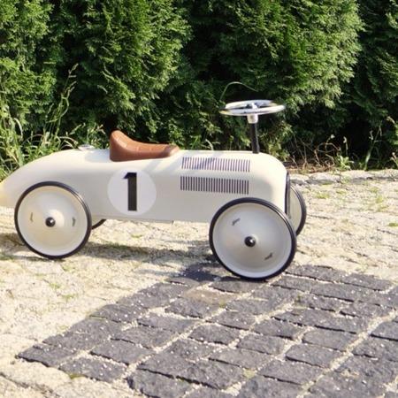 Jeździk metalowy Nr 1 biały, Vilac