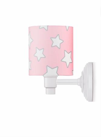 Kinkiet Pink Stars