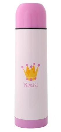 KioKids Termos na napoje 500ml różowy princess