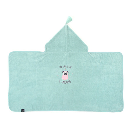 La Millou Ręcznik Bamboo Soft Kid Doggy Unicorn mint