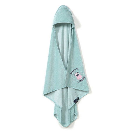 La Millou Ręcznik Bamboo Soft Newborn Doggy Unicorn mint