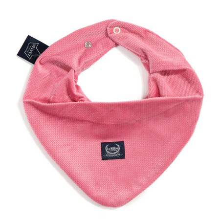 La Millou Velvet Collection Mięciutka apaszka Florida Pink