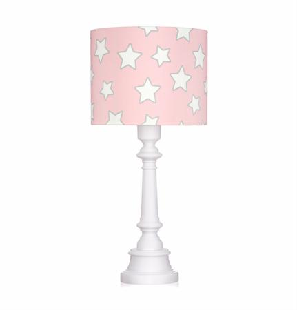 Lampa stojąca dla dzieci Pink Stars