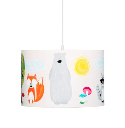 Lampka dla dzieci wisząca Przyjaciele z Lasu
