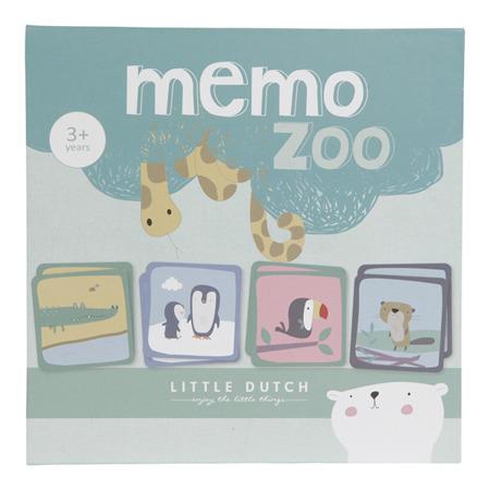 Little Dutch Gra Memory Zoo