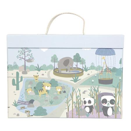Little Dutch Przenośne Zoo w walizce