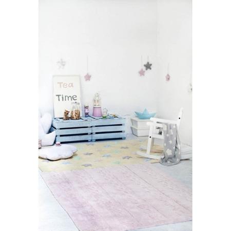 Lorena Canals Trenzas Soft Pink 120x160cm