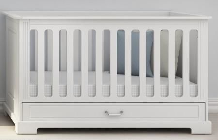 Łóżeczko 70x140cm z szufladą Bellamy Ines White