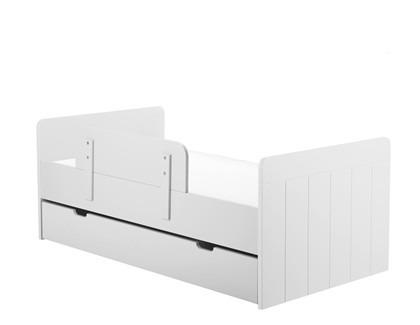 Łóżeczko-tapczanik 140x70 Białe Pinio Calmo