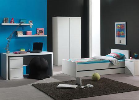 Łóżko młodzieżowe 200x90 Pinio Lara