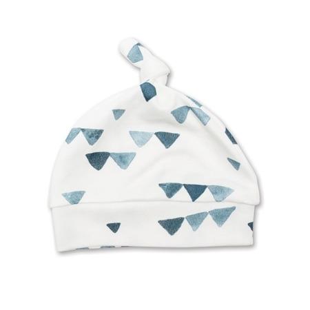 Lulujo Zestaw kocyk + czapka Triangles