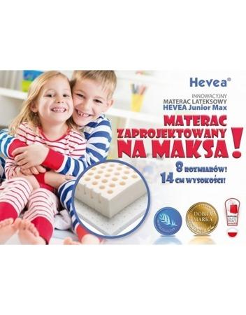 Materac lateksowy Hevea Junior MAX 200/90 Aegis