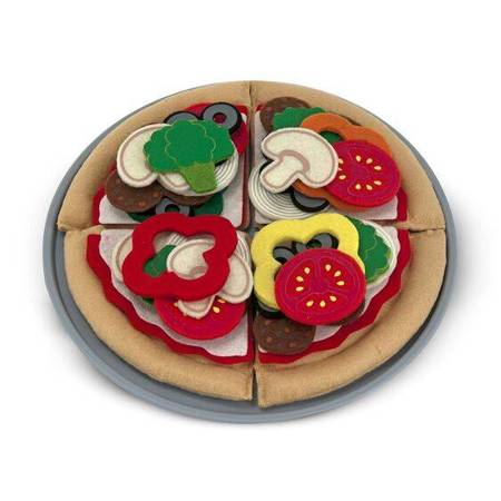 Melissa & Doug Filcowy zestaw do tworzenia pizzy