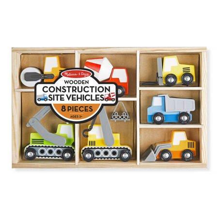 Melissa & Doug Pojazdy budowlane w pudełku