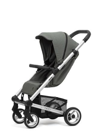 Mutsy Wózek Spacerowy NEXO Moss Grey Melange