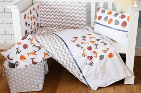 Ochraniacz na całe łóżeczko, Liski 30x360cm