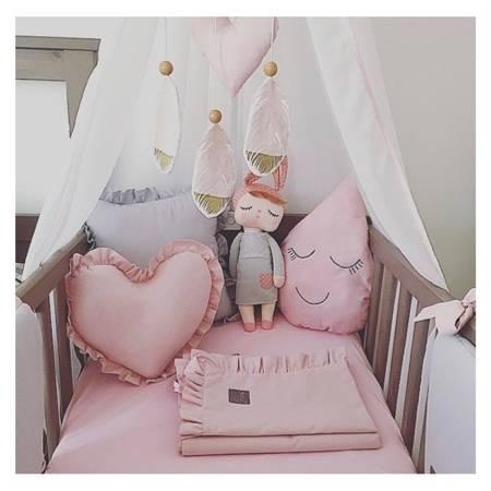 Poduszka Serce małe różowa, Dolly