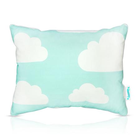 Poduszka dwustronna Chmurki Mint&Grey