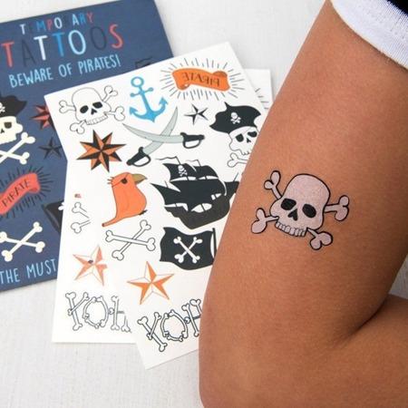 Rex London Zmywalne tatuaże dla dzieci Piraci