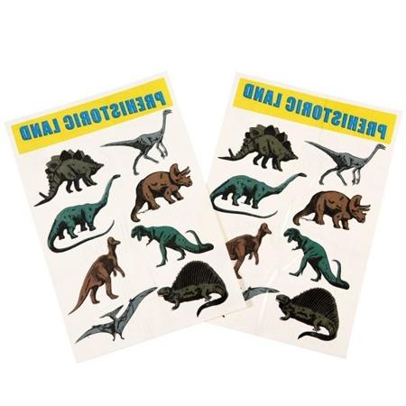 Rex London Zmywalne tatuaże dla dzieci dinozaury