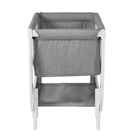 Shnuggle Łóżeczko dostawne dla niemowlaka AIR Bedside Crib - stone