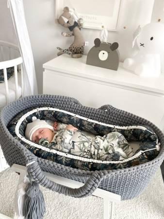 Sleepee Gniazdko niemowlęce Jungle Multicolor