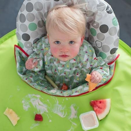 Tidy Tot Kit Zestaw do nauki jedzenia metodą BLW zielony