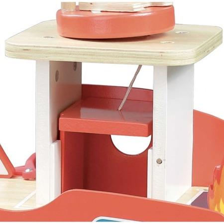 Vilac Remiza strażacka drewniana