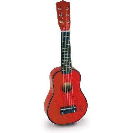 Vilac,gitara drewniana zabawkowa czerwona